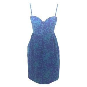 Dresses & Skirts - Blue Silk Tank Anthropologie Dress
